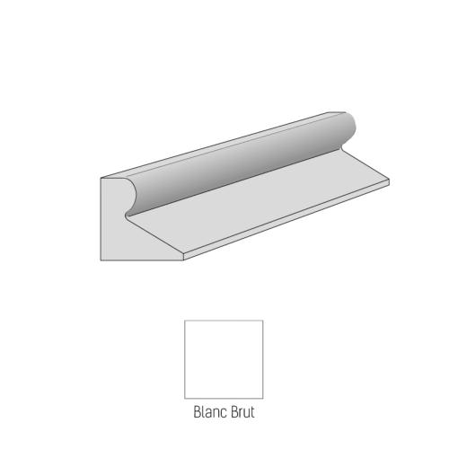 Bordure CITYPROTECT - Type GSS - 1m - Blanc