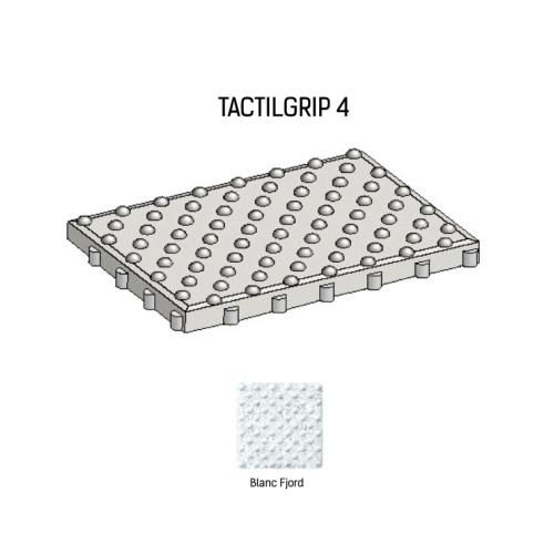 Dalle podotactile TACTILGRIP 4 - Coloris Blanc Fjord